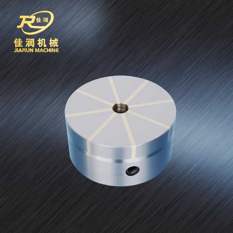 圆形放射永磁吸盘125